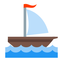 Mały żaglowiec icon