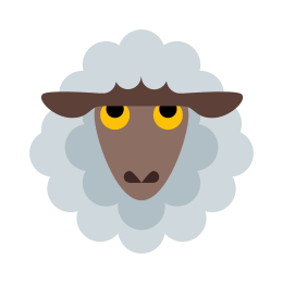 Sheep Outline icon