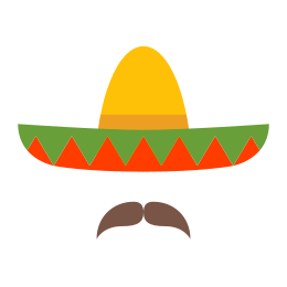 Mexican Hat and Mustache icon