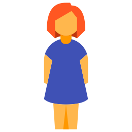 Kobieta stojąca icon