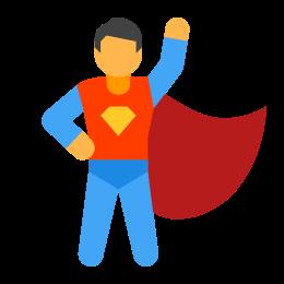 Super Hero Male icon