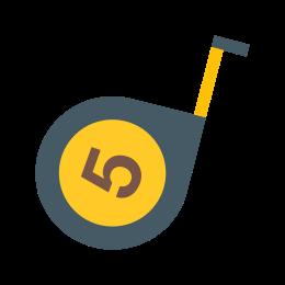 Five-Meter Tape Measure icon