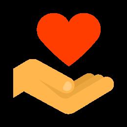 Heart Hand icon
