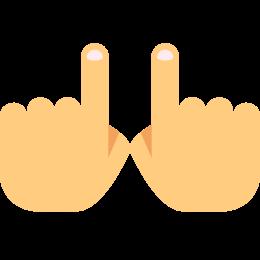 Dwie dłonie icon