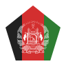 Afghanistan Flag Pentagon icon