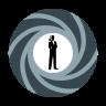 James Bond logo icon