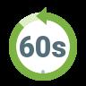 Última 60 Sec Filled icon