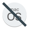 No Mac Os icon