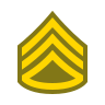 Staff Sergeant SSG icon