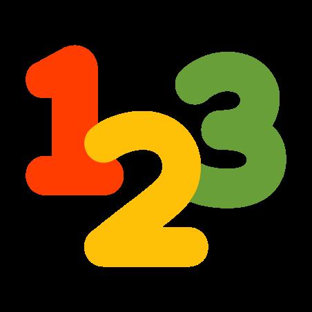 数字 icon