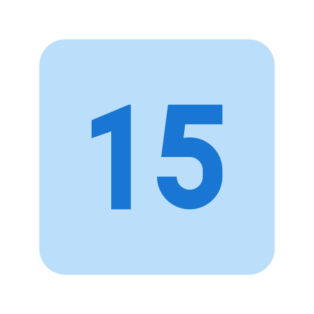 15 icon