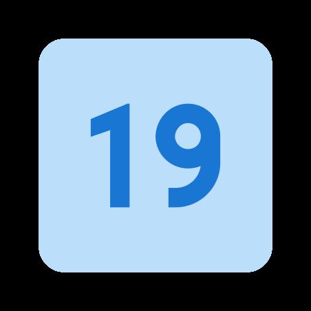 19 icon