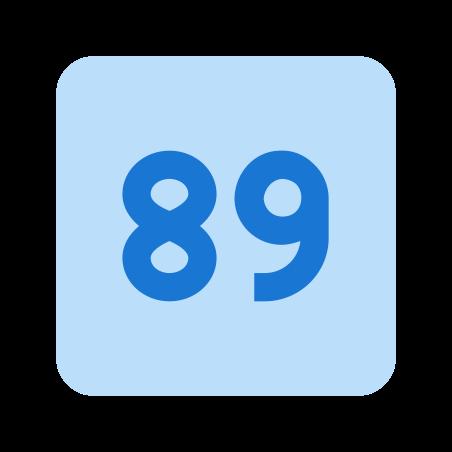 89 icon