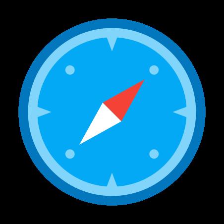 모험 icon in 색상