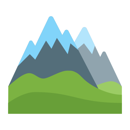 Alps icon in Color