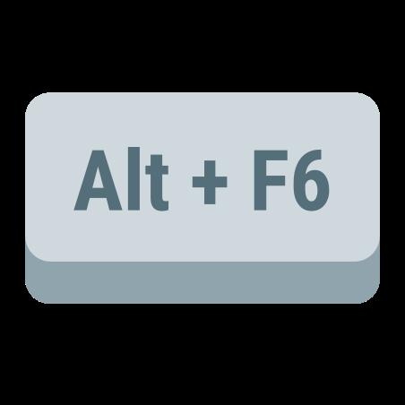 Alt + F6 icon