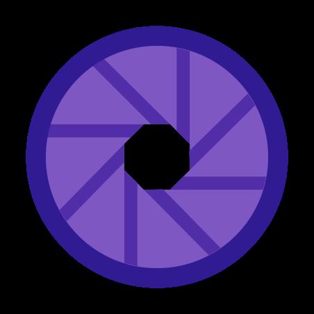 Aperture icon in Color