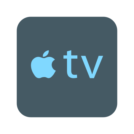 Apple TV icon in Color