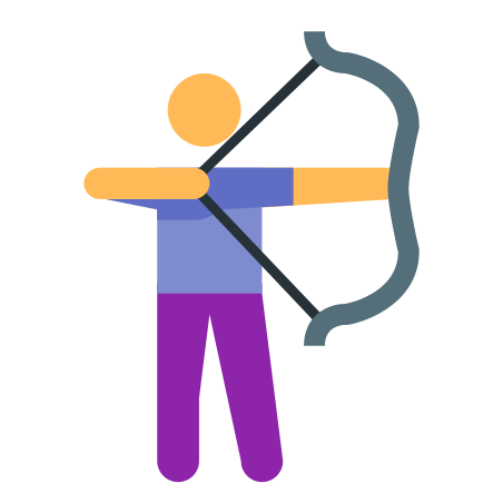 Archery icon in Color
