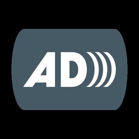 Audio Description icon in Color
