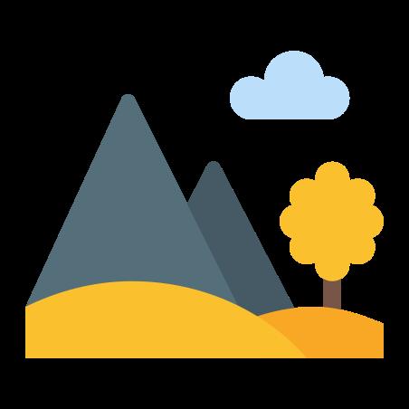 Autumn Landscape icon in Color