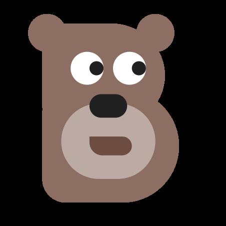 B Cute icon