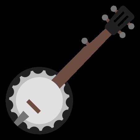 Banjo icon in Color