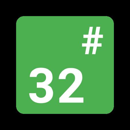 Base 32 icon