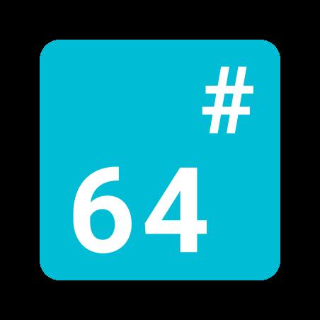 Basis 64 icon