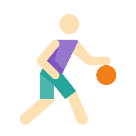 Basketball Player Skin Type 1 icon in Color