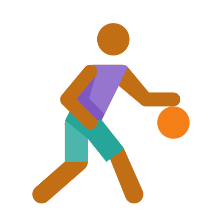 Basketball Player Skin Type 4 icon in Color