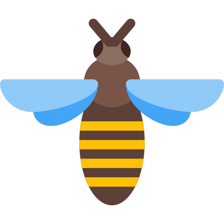 Bee Top View icon
