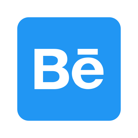 Behance icon in Color