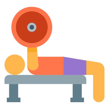 Bench Press icon in Color