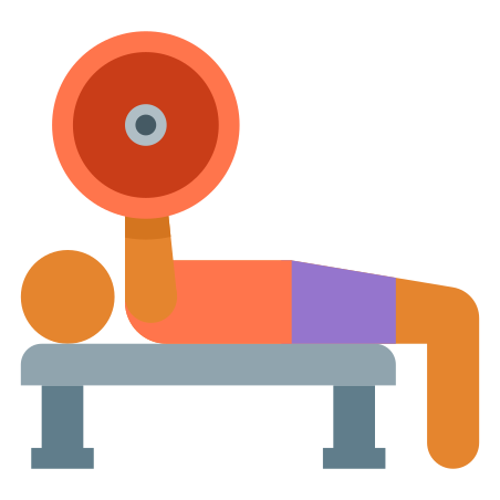 Bench Press Skin Type 3 icon in Color