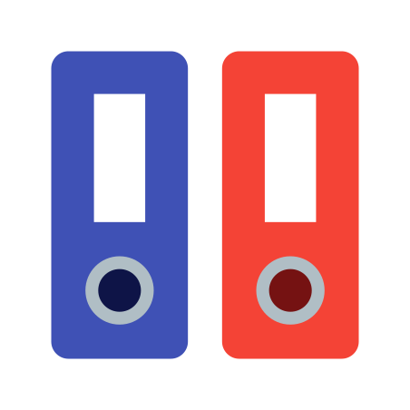 Binder icon in Color