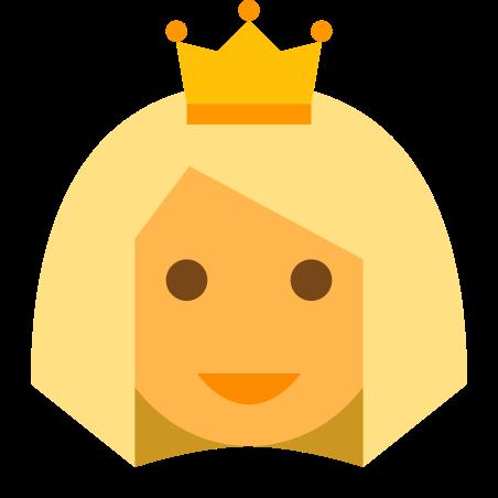 Блондинка-принцесса icon