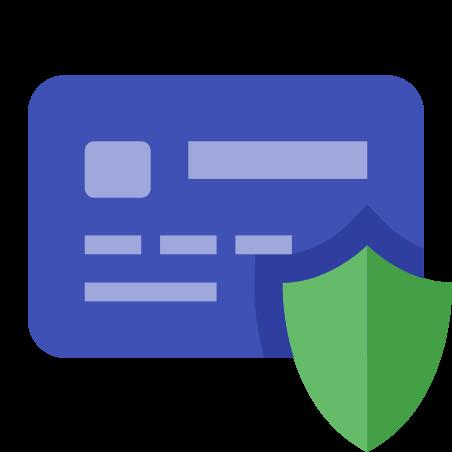 카드 보안 icon in 색상