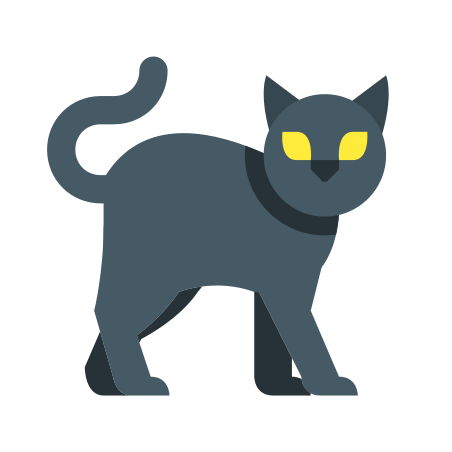 Cat icon in Color