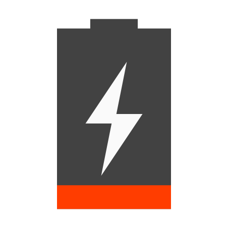 Charging Empty Battery icon