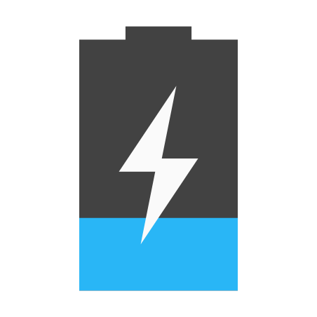 Charging Low Battery icon