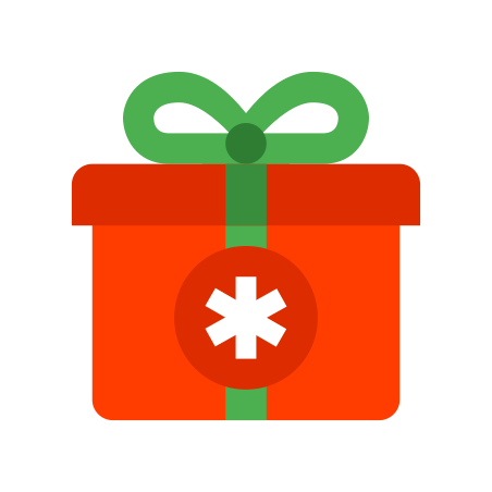 Christmas Gift icon in Color