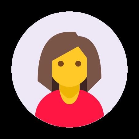 Eingekreister weiblicher Hauttyp 7 icon