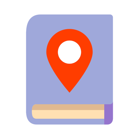 City Guide icon in Color