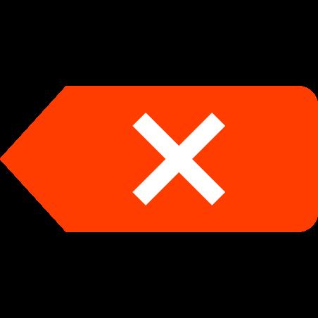 클리어 기호 icon