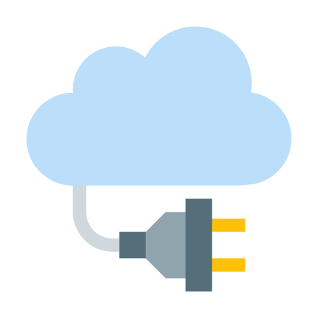 Cloud Connection icon in Color