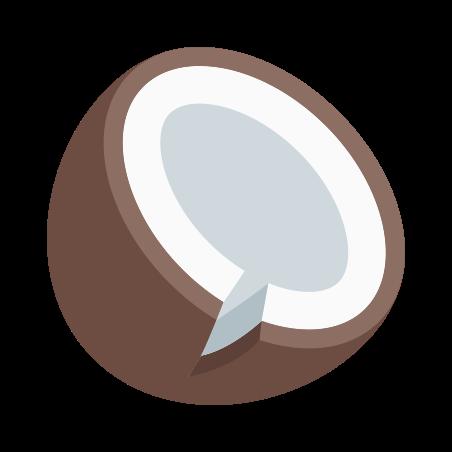 Coconut icon in Color