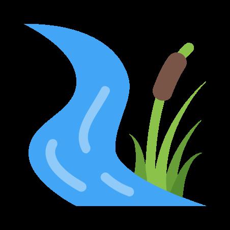 溪 icon