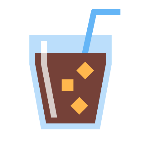 Cup With Straw icon