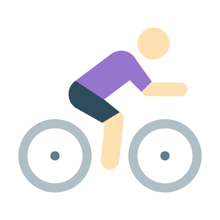 Cycling Skin Type 1 icon in Color